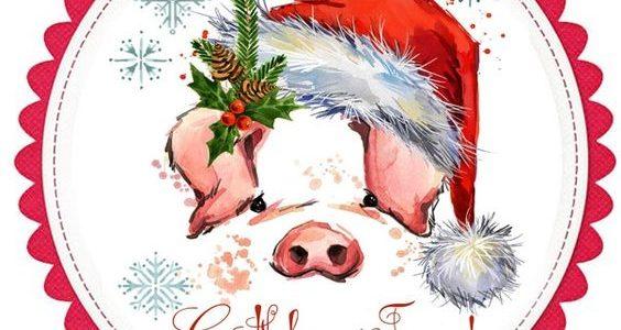 З Новим Роком та Різдвом! Веселих свят!